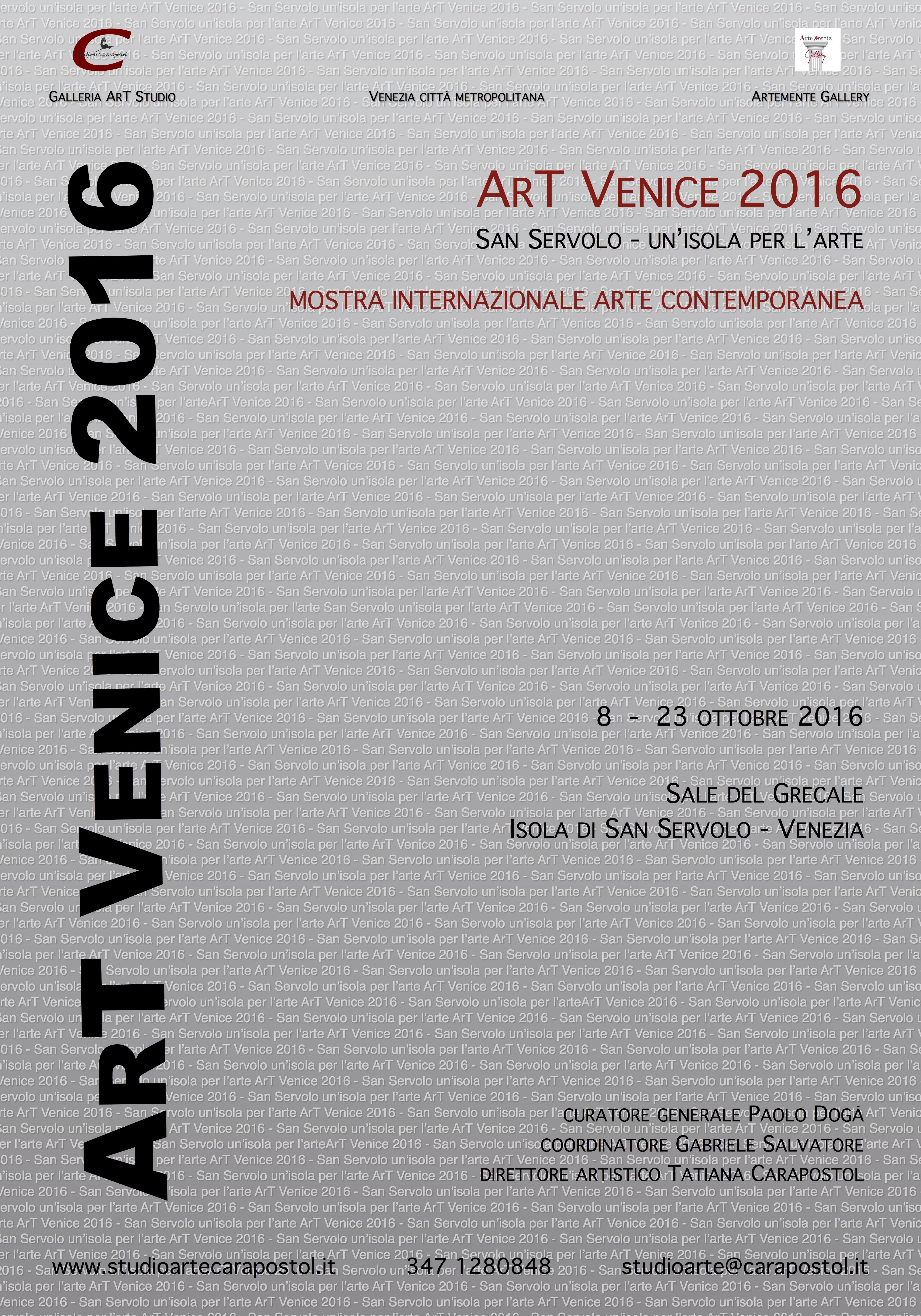 Manifesto ArT Venice 2016