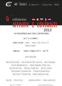 Affinità e Contrasti 4 2013