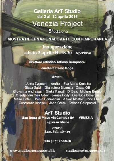 Venezia Project 2016
